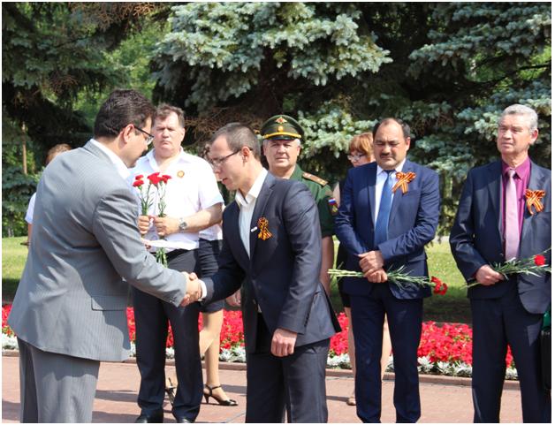 В Уфе прошла Международная акция  «Вахта памяти: Нас миллионы панфиловцев!»